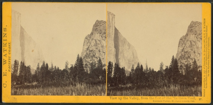 1 CEW, From the Foot of the Mariposa Trail, 1861, NYPL 1500