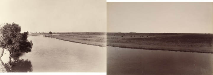 1 CEW, View on the Calloway Canal, near Poso Creek, Kern County (A&B), ca. 1887-88, HEH & JPGM 1500.jpg