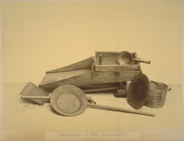 1 CEW, Weapons of the Argonauts, ca 1866-72, BANC