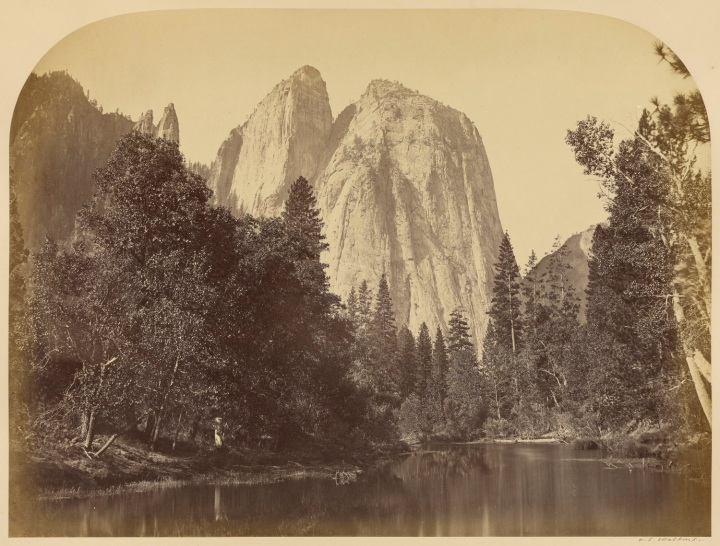 10 CEW, River View, Cathedral Rock, 1861, JPGM 1500