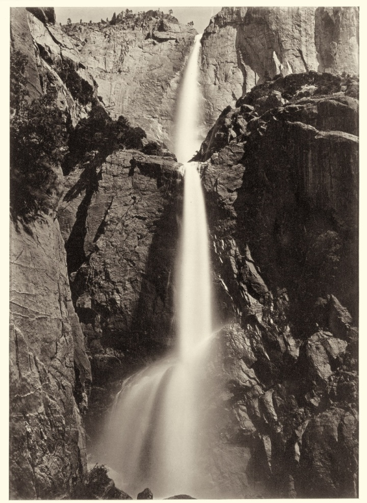 10 CEW Yosemite Falls, View from the Bottom, ca 1878-81, JPGM 1100