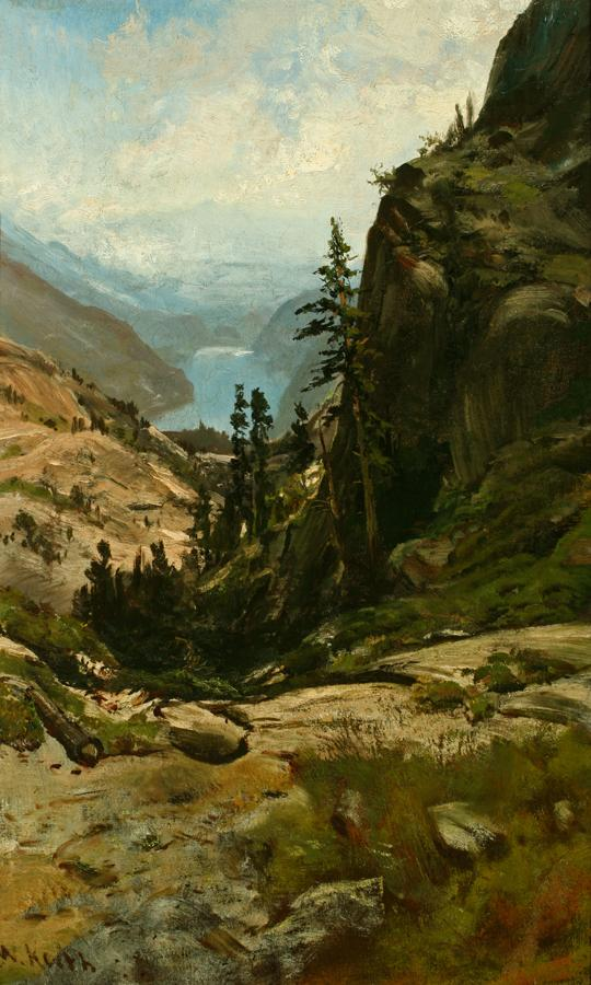 10 William Keith, Donner Lake, 1878-79, St Mary's College Museum of Art, Moraga, Calif