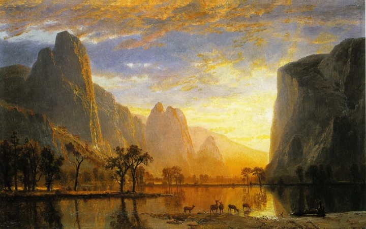 11 Albert Bierstadt, Valley of the Yosemite, 1864, MFAB