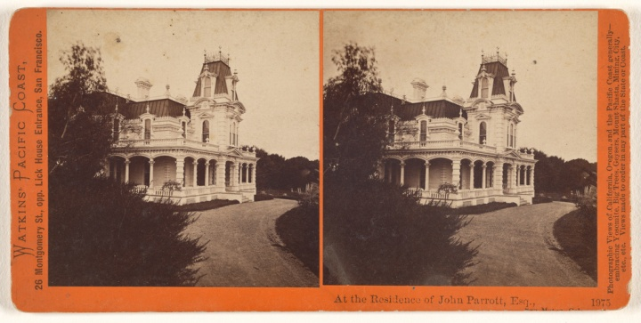 11 CEW, At the Residence of John Parrott, Esq. [Baywood], ,ca. 1865-76, JPGM