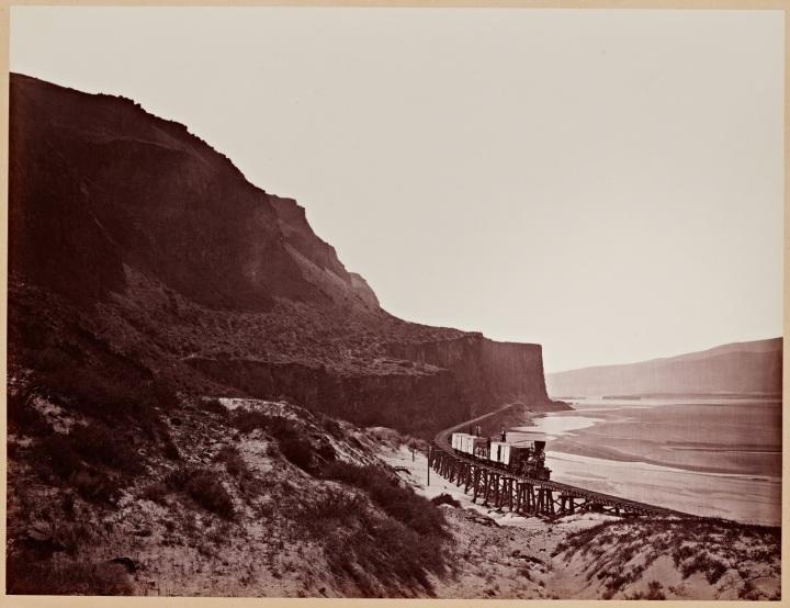 11 CEW, Cape Horn, near Celilo, Columbia River, Oregon, 1867 1500