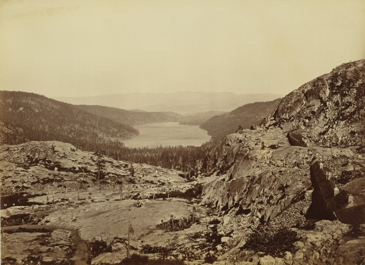 11 CEW, Donner Lake, CPRR, Nevada County, Calif., ca. 1876, JPGM 1500