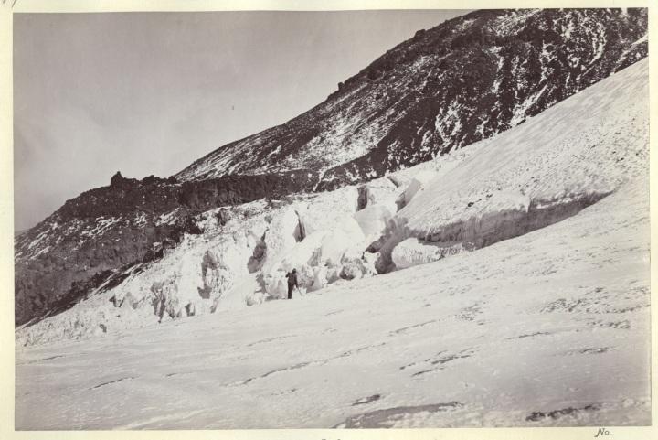 11 CEW, Whitney Glacier, Mount Shasta, 1870, NARA 1500