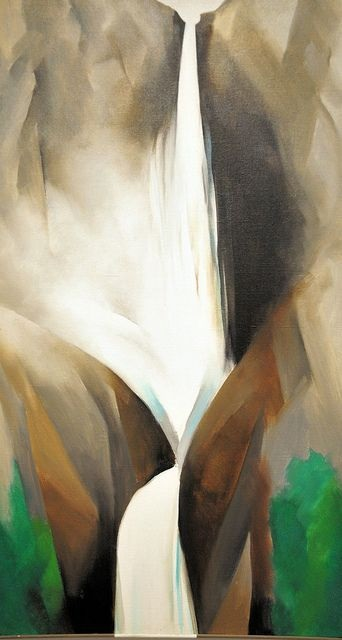 11 Georgia O'Keeffe, Waterfall I, 1952, BMA