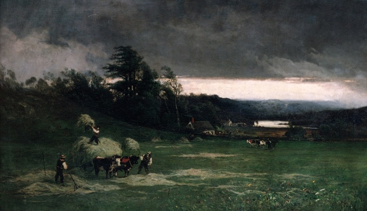 11 William Keith, Approaching Storm, 1880, Met 1500