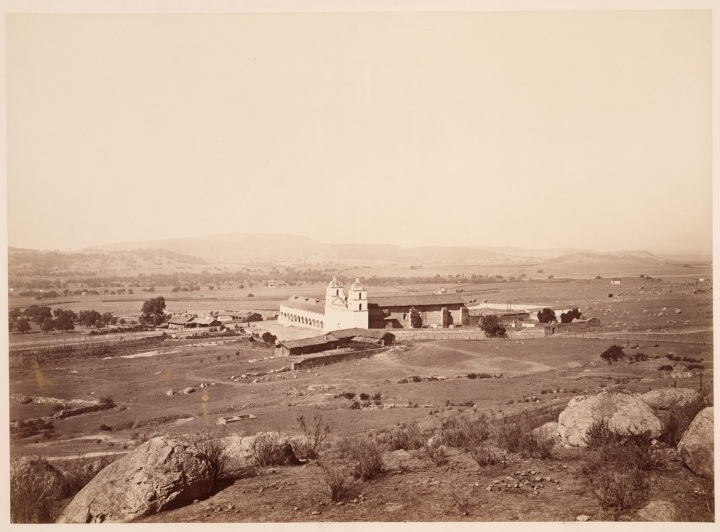12 CEW, Mission Santa Barbara, Santa Barbara County, Calif., ca. 1877, HEH 1500