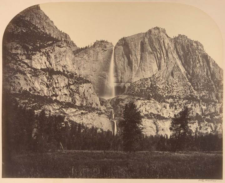 12 CEW, Yosemite Falls, Front View, 1861, Met