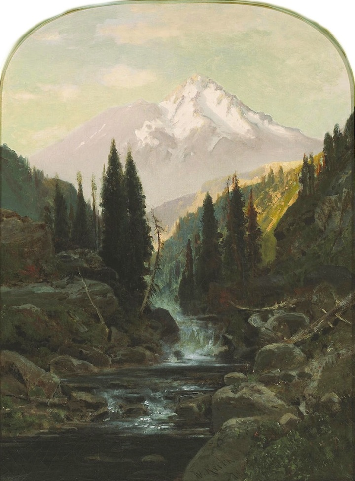 12 William Keith, Mount Shasta, ca. 1878, private collex