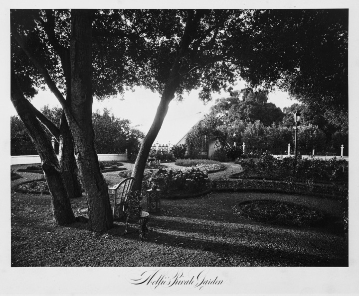 13 CEW, Mollie Latham's Private Garden, Thurlow Lodge [Milton Latham's Residence], San Mateo County, 1874. Collection of the Canadian Centre for Architecture