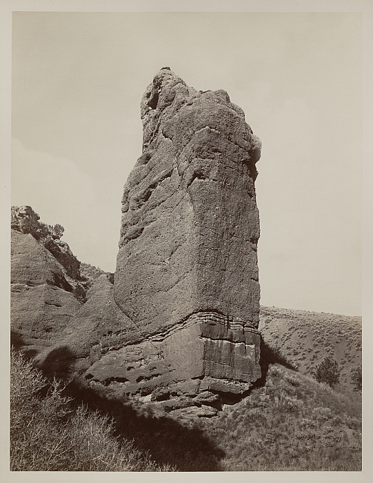 13 CEW, Sentinel Rock, Echo Canyon, Utah Territory, 1873-74, Clark Art Institute, Williamstown, MA