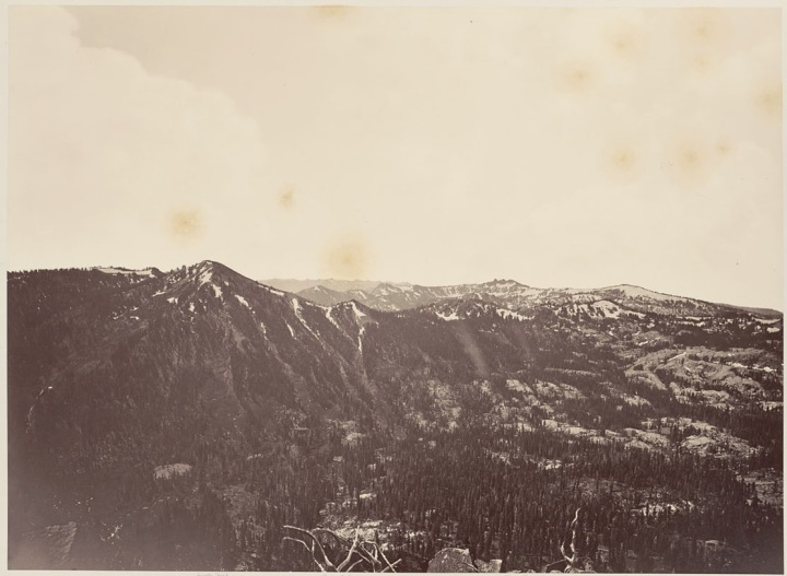 13 CEW, View from Mt. Lola Looking Toward Round Top, 1879, BANC