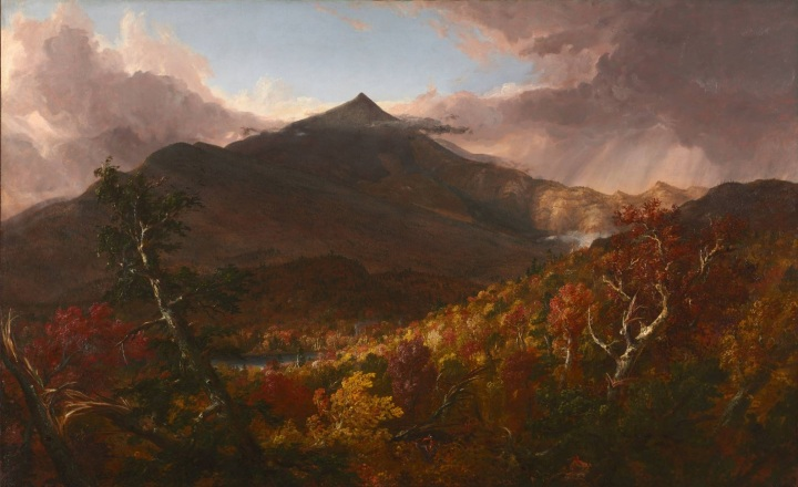13 Thomas Cole, View of Schroon Mountain, Essex County, New York, after a Storm, 1838, Cleveland