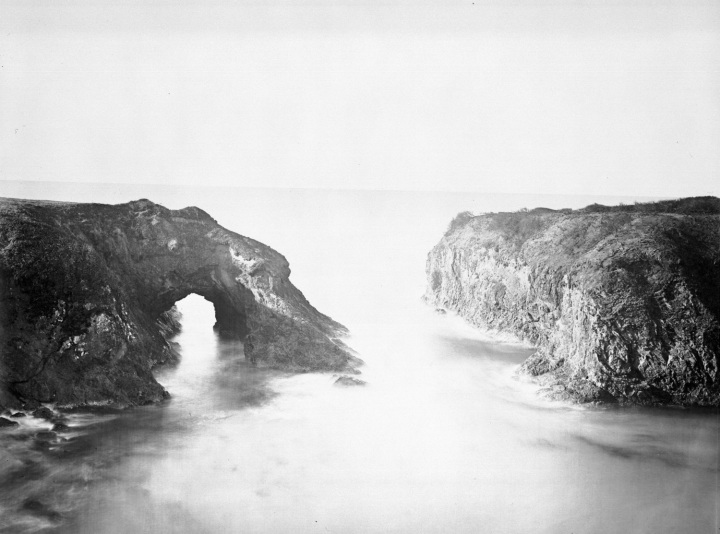 14 CEW, A Coast View, Rocks (No. 3), Mendocino, OHS 1500