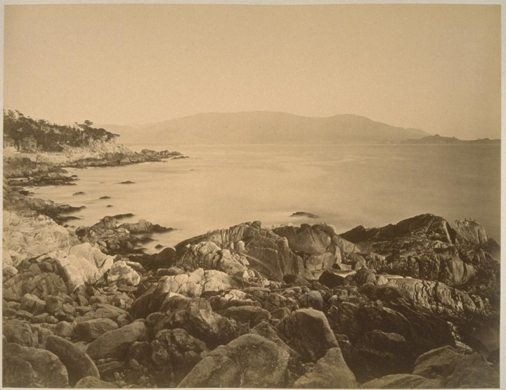 14 CEW, Carmel Bay from 18-Mile Drive, ca. 1882-85, PAHMA