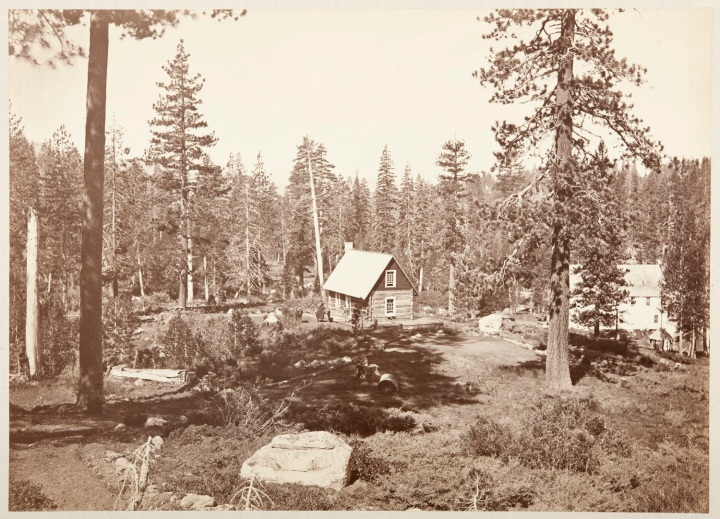 14 CEW, Mark Hopkins Cottage, Soda Springs, Placer County, Calif., 1876, CSL 1500