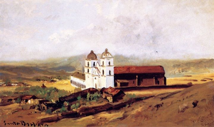 14 William Keith, Mission Santa Barbara, 1883, private collex