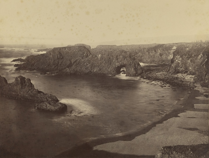 15 CEW, A Coast View, Pebble Beach (No. 4), Mendocino, 1863, JPGM 1500