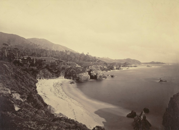 16 CEW, Gibson Beach, Point Lobos, Monterey County, ca. 1882-85, JPGM 1500