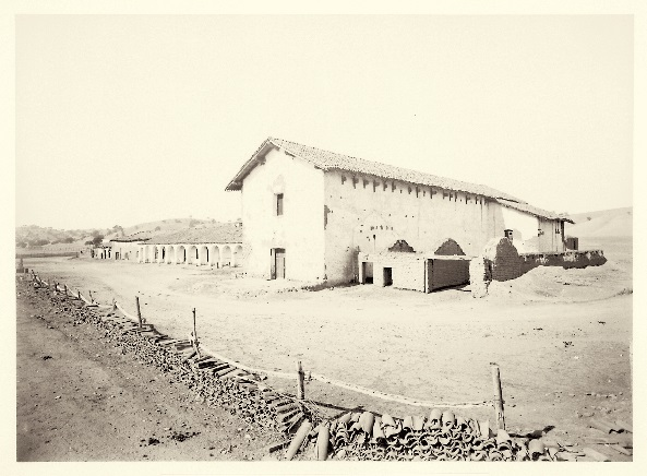 16 CEW Mission San Miguel Arcangel, SLO County, Calif. ca. 1877, HEH