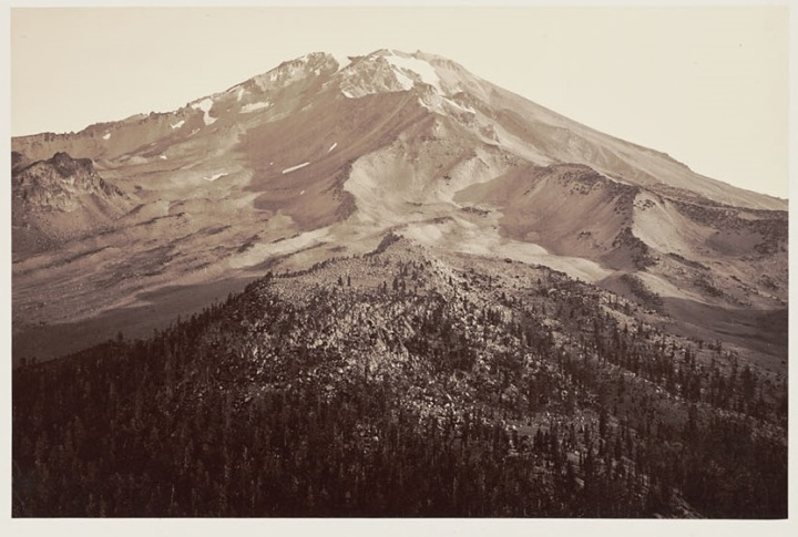 16 CEW, Summit of Shasta, 1870, BANC