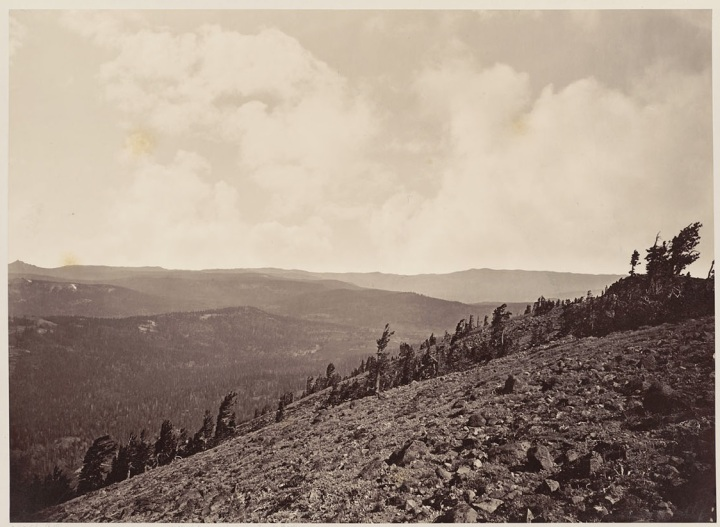 16 CEW, View from Mt. Lola (C), 1879, BANC
