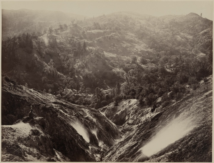 17 CEW, Devil's Canyon, The Geysers, Sonoma County, ca 1867, LOC 1500
