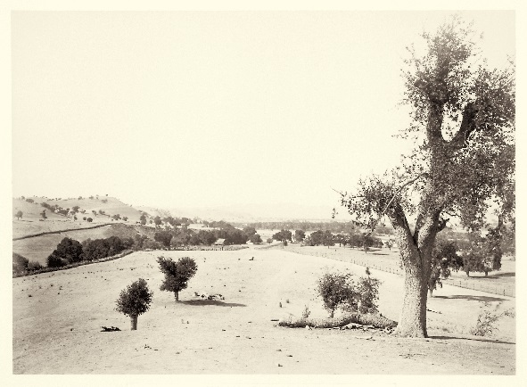 17 CEW, View from Mission San Miguel Arcangel, SLO County, Calif., ca. 1877, HEH