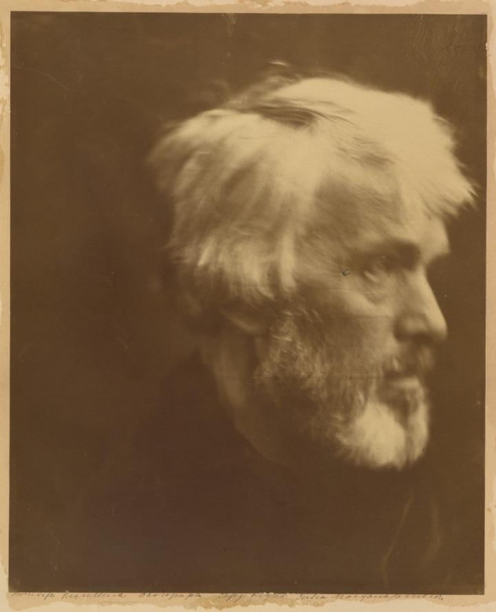 17 Julia Margaret Cameron, Thomas Carlyle, 1867, Met 1200