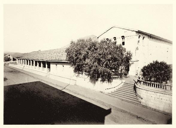 18 CEW, Mission San Luis Obispo, San Luis Obispo County, Calif. ca. 1877, HEH