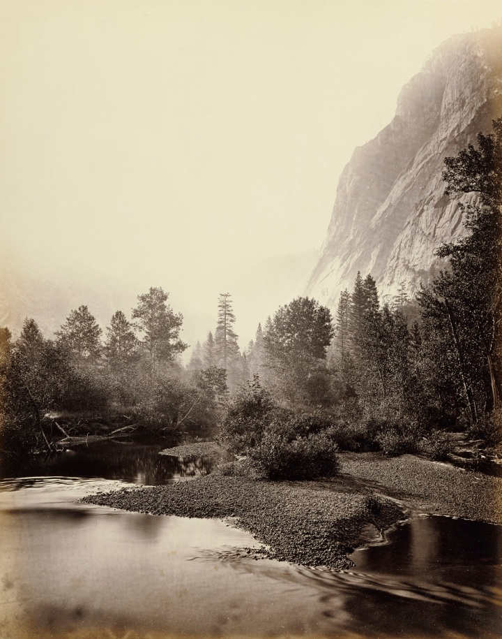 18 CEW Mount Starr King and Glacier Point, Yosemite, 1865-66, JPGM 1200