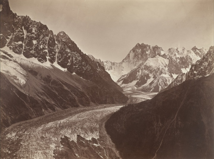 18 Louis-Auguste Bisson with Auguste-Rosalie Bisson, Mont Blanc, 1860-61, MoMA