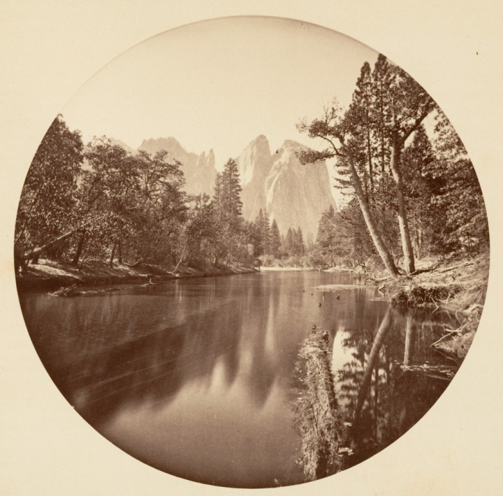 2 CEW, Cathedral Rock and the Merced River, ca. 1878-81, Met