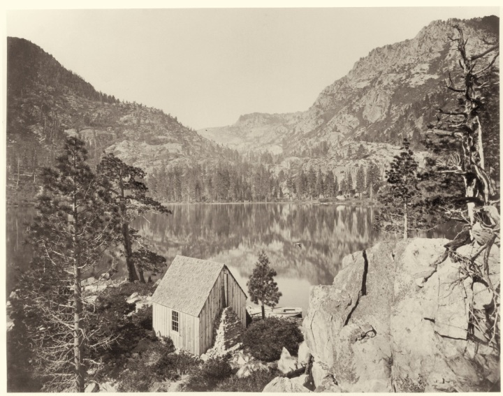 2 CEW, Emerald Bay from the Island, Lake Tahoe, 1876, HEH