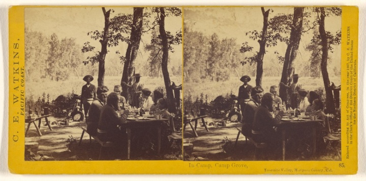 2 CEW, In Camp, Camp Grove [Trenor Park Party], 1861, JPGM