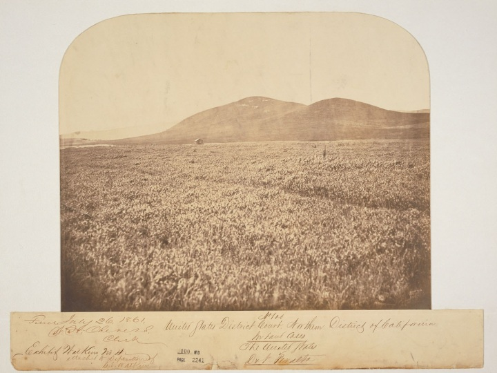 2 CEW, Rancho San Antonio Exhibit 4, 1861, BANC