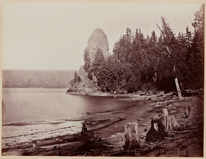 2 CEW, Rooster Rock, Columbia River, Oregon, 1867, SUL 1500