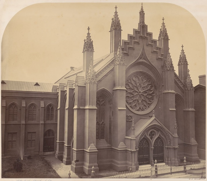2 CEW Thomas Starr King's Church [First Unitarian], SF, 1863-64, BANC