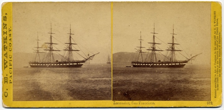 2 CEW, [USS] Lancaster, 1863-64, private collex