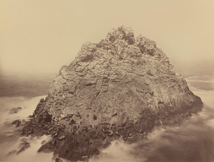 21 CEW, Sugar Loaf Island and Seal Rocks, Farallon Islands, ca. 1872, NGA 1500