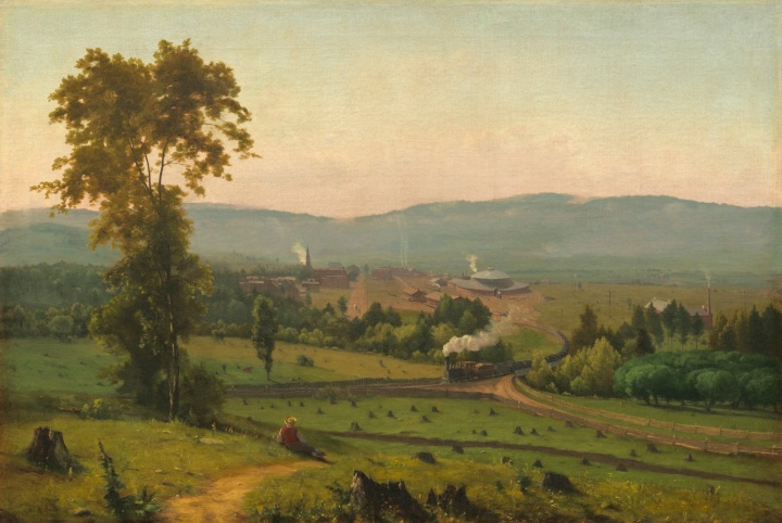 22 George Inness The Lackawanna Valley, c 1856, NGA