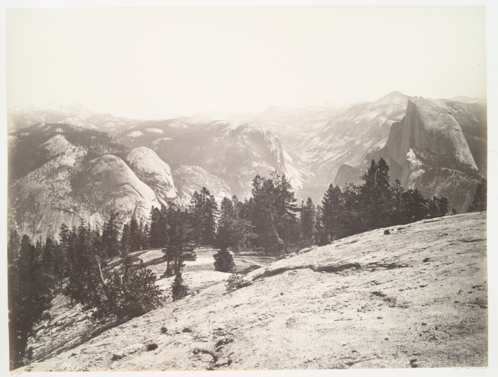 24 CEW, The Domes from Sentinel Dome, 1865-66, NYPL 1500