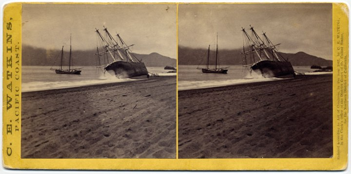 25 CEW, The Wreck of the Viscata, 1868, private collex