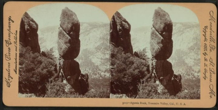 25 Keystone View Co., Agassiz Rock, Yosemite, early 2000s