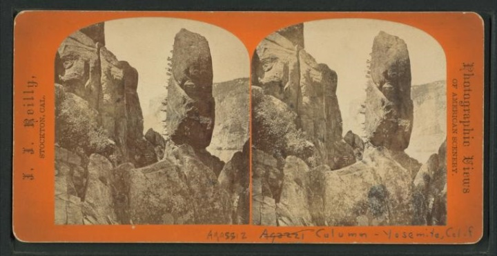 27 JJ Reilly, Agassiz Column, Yosemite, nd