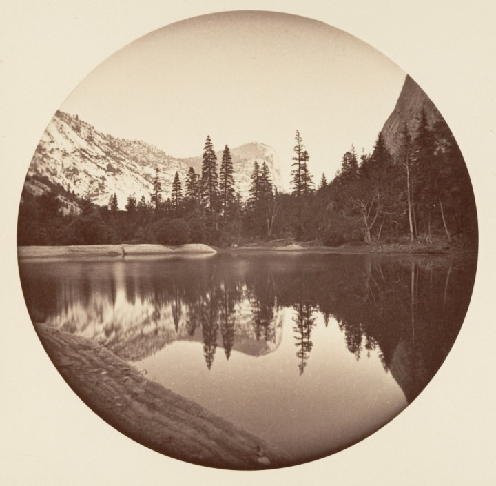 3 CEW, Mount Watkins and Mirror Lake, ca. 1878-81, Met