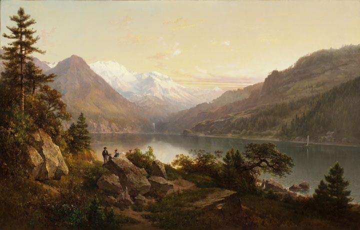 3 Thomas Hill, Emerald Bay, Lake Tahoe, 1864, LACMA 1500
